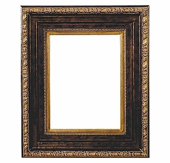 Picture Frames 36 X 48 Gold Black Picture Frames Frame Style