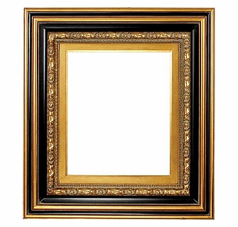 Picture Frames 48 X 72 Black Gold Ornate Picture Frame Frame