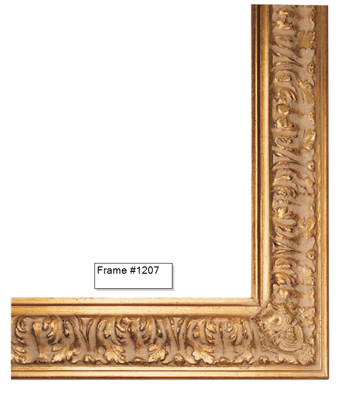 Picture Frames - Oil Paintings & Watercolors - Frame Style #1207 ...