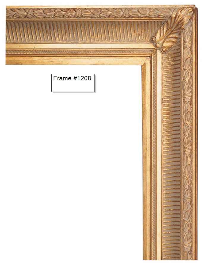 Picture Frames - Oil Paintings & Watercolors - Frame Style #1208 ...