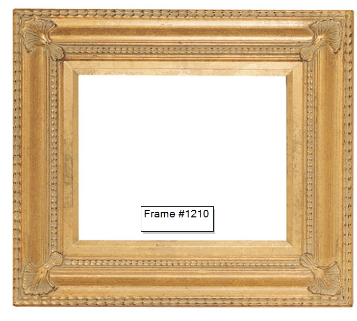 Picture Frames - Oil Paintings & Watercolors - Frame Style #1210 ...