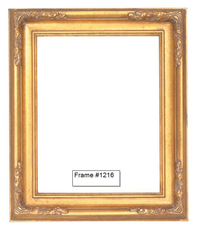 Picture Frames - Oil Paintings & Watercolors - Frame Style #1216 ...