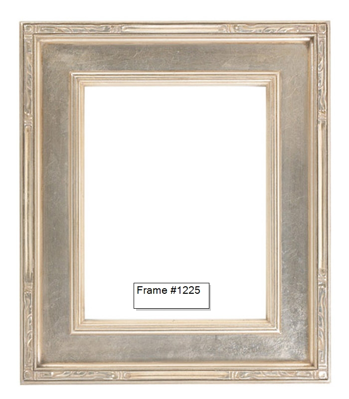 Picture Frames - Oil Paintings & Watercolors - Frame Style #1225 ...