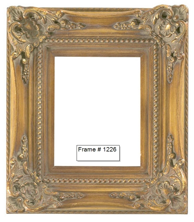 Picture Frames - Oil Paintings & Watercolors - Frame Style #1226 ...