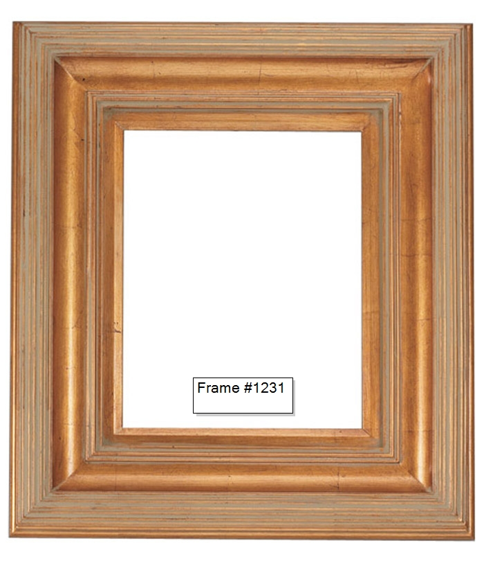 Picture Frames - Oil Paintings & Watercolors - Frame Style #1231 ...