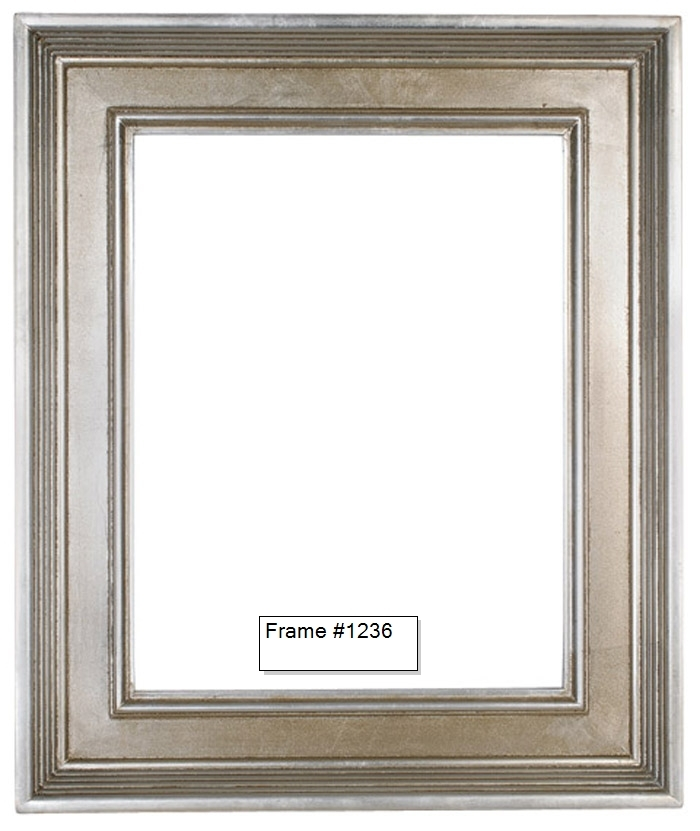 Picture Frames Oil Paintings Watercolors Frame Style 1236