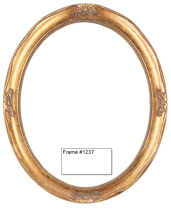 picture frames oil paintings watercolors frame style 1237 4x5 antique gold oval kevane company