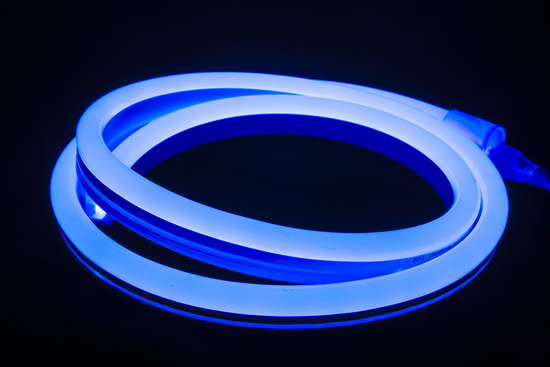120v Blue LED Polar 2 Neon Flex - 150'