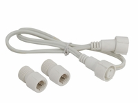 "2-Wire 1/2"" Rope Light Connector - 2'"