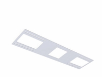 """American Lighting 6"""" Square Rough-in Plate"""