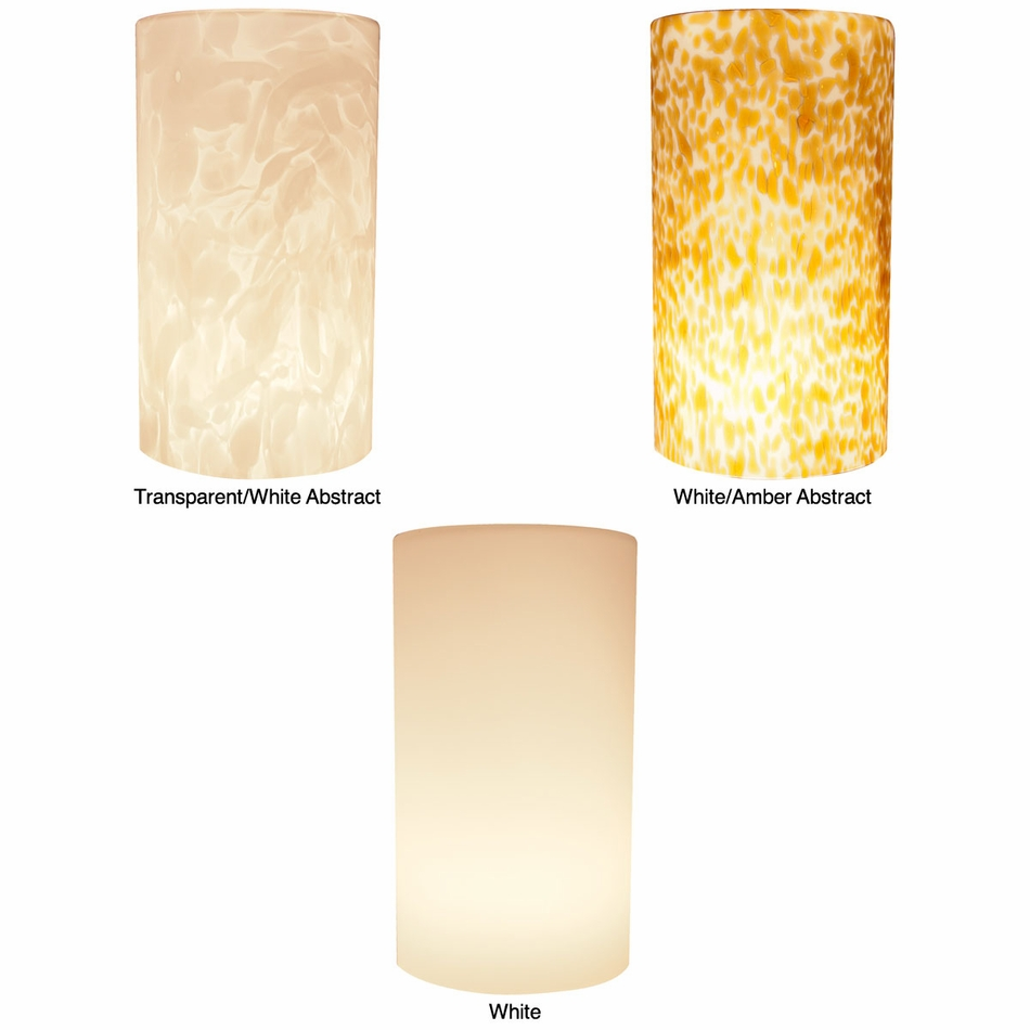 American lighting led pendant tall cylinder glass shade aloadofball Choice Image