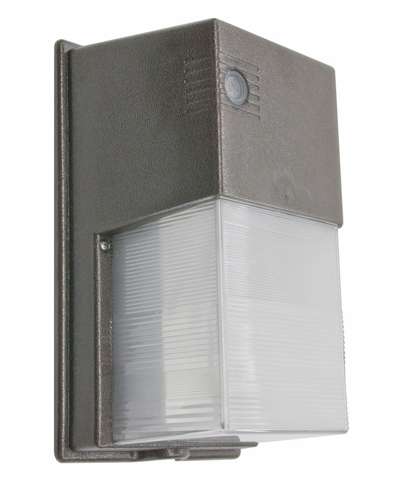 Led Photocell Wall Light : American Lighting Mini Photocell LED Wall Pack