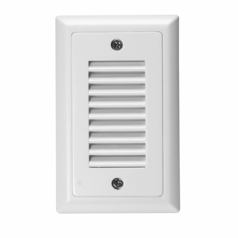 american lighting step light faceplate vertical louver