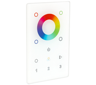 American Lighting Trulux RF RGB/RGBW Touch Wall Controller - Multi Zone