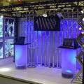 Dramatic Trade Show Lighting