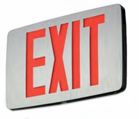 Emergi-Lite Prestige Thin Die Cast Self-Powered Exit Sign