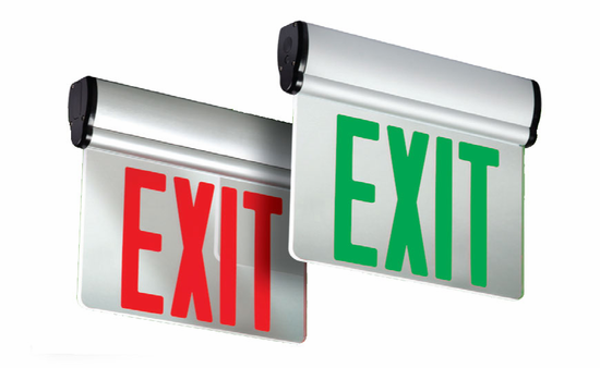 Emergi-Lite Total Edge Self-Powered LED Exit Sign