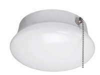 "ETi 7"" LED Spin Light Flush Mount with Pull Chain"