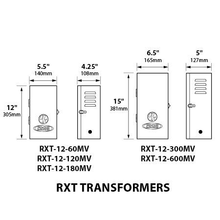 Focus RXT 60W Multi-Voltage 1 Circuit SS Transformer - Photocell