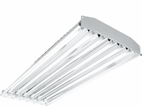 H.E. Williams GL Low Profile 6-Lamp T5 Industrial High Bay