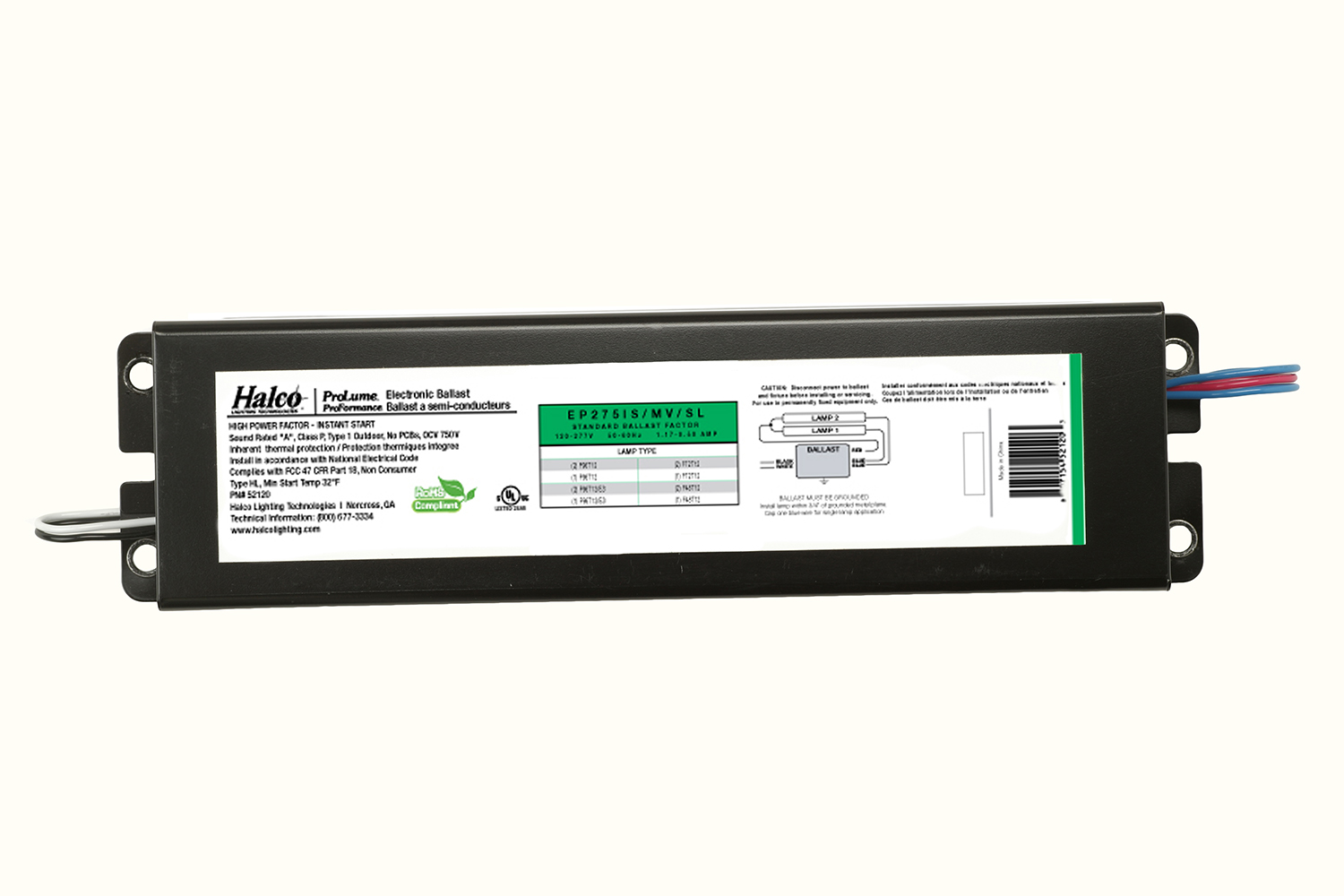 95 2 Electronic Ballast Rent A Phantom Ii E 315w Cmh 120 F21t5 T5 Fluorescent 1 Or Lamp 120v 277v 21w Halco 75w T12 Instant Start For Lamps