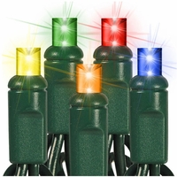 Wide Angle 5mm LED Christmas Lights