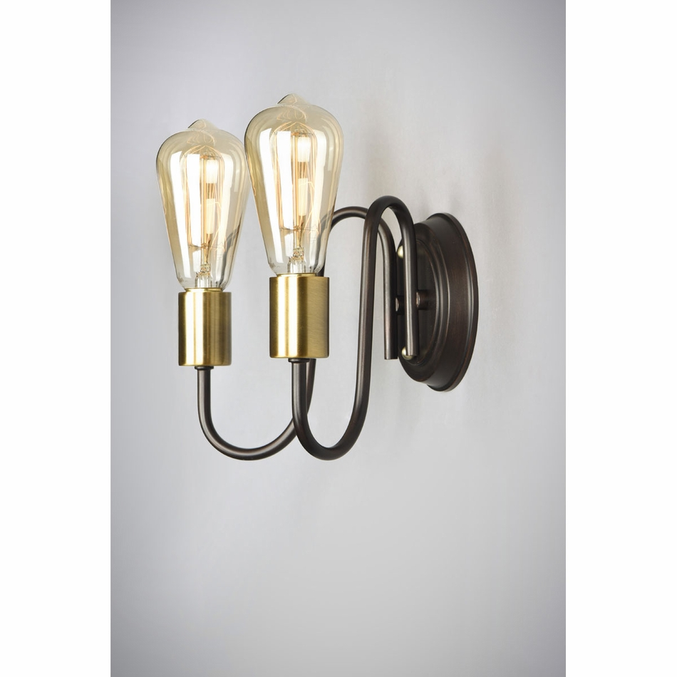 Maxim haven 2 light wall sconce 11739 aloadofball Gallery