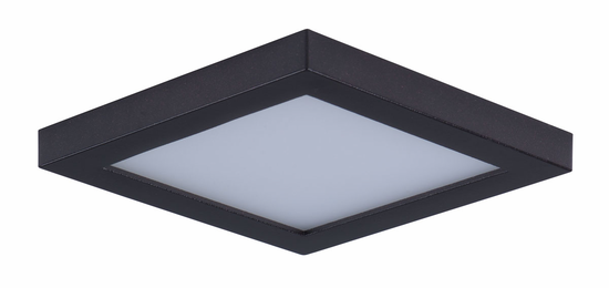 Maxim Wafer LED Wall/Flush Mount 4.5in Square 57720WT