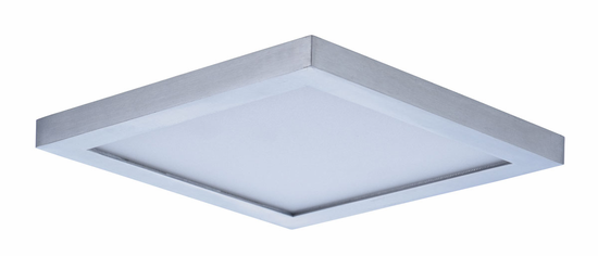 Maxim Wafer LED Wall/Flush Mount 6.25in Square 57722WT