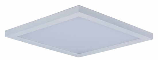 Maxim Wafer LED Wall/Flush Mount 9in Square 57724WT