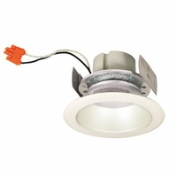 "Nora 4"" Cobalt LED Retrofit Downlight - Deep Cone Reflector - 1000 Lumens"