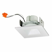 "Nora 4"" Cobalt Square Regressed LED Retrofit Downlight - 1000 Lumens"