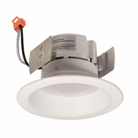 "Nora 4"" Onyx LED Retrofit Downlight - Reflector Trim"