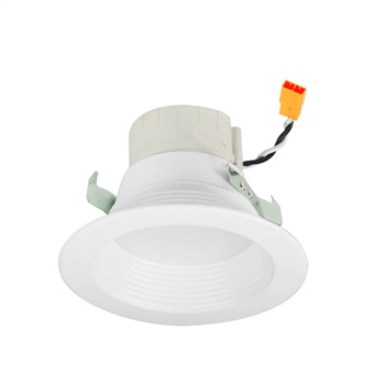 "Nora 4"" PRISM Smart RGBW LED Retrofit Downlight - Baffle Trim"