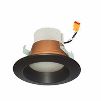 "Nora 4"" PRISM Smart RGBW LED Retrofit Downlight - Reflector Trim"