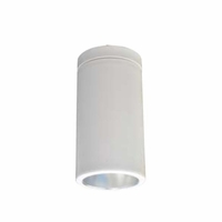 "Nora 6"" LED Cylinder - White - Surface Mount"
