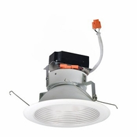 "Nora 6"" Marquise Comfort Dim LED Retrofit Downlight - Baffle Trim"