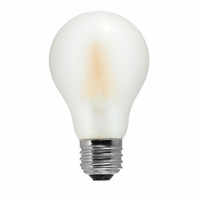 Tamarac 8W LED Filament Vintage A19 Lamp - Soft White (12-pack)