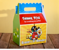 Angry Birds Gable Favor Box