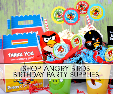 Angry birds party supplies for Angry birds birthday party decoration ideas