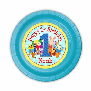 BabyFirst TV Favorites Party Personalized 7inch Cake Plates