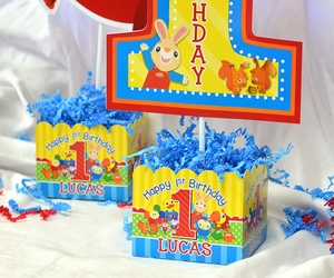 BabyFirst TV Favorites Party Personalized Large Table Centerpiece