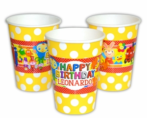 BabyFirst TV Favorites Personalized Party Cups