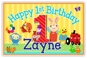 BabyFirst TV Favorites Personalized Party Posters