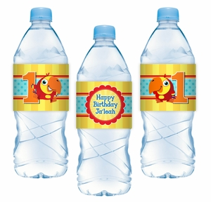 VocabuLarry Personalized Water Bottle Label Stickers