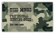 Camo Business Cards