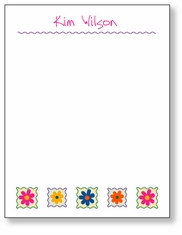 Crazy Daisies Scratch Pad
