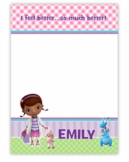 Doc McStuffins Personalized Thank You Note Card