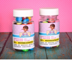 Doc McStuffins RX Medicine Bottle Tiny Treat Personalized Favor