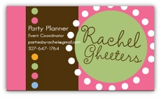 Dottie Girl Business Cards